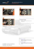 Jak vyměnit koncovku táhla na Volkswagen Golf III