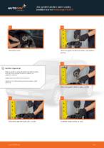 Jak vyměnit uložení zadní vzpěry zavěšení kol na Volkswagen Golf III