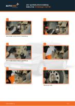 Jak vyměnit přední brzdový kotouč na Volkswagen Golf III