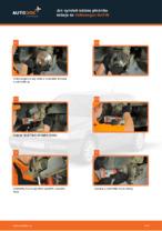 Jak vyměnit ložisko předního náboje na Volkswagen Golf III