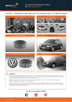 Jak vyměnit vzduchový filtr motoru na Volkswagen Golf III