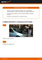 Jak vyměnit přední brzdové destičky kotoučové brzdy na FIAT PUNTO 188