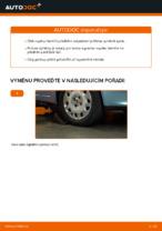 Jak vyměnit vzpěru předního tlumiče na autě FIAT PUNTO 188