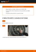 Instalace Lozisko kola FIAT PUNTO (188) - příručky krok za krokem