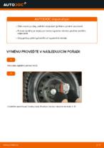 Jak vyměnit pružiny zadního zavěšení kol na FIAT PUNTO 188