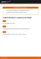 Vyměnit Rameno Zavesenia Kolies FIAT PUNTO: dílenská příručka