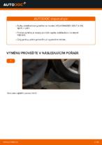 Jak vyměnit přední vzpěru stabilizátoru na Volkswagen Golf V (1K)