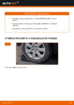 Jak vyměnit zadní vzpěru stabilizátoru na Volkswagen Golf V (1K)