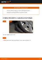 Jak vyměnit spodní rameno předního nezávislého zavěšení kol na Volkswagen Golf V (1K)