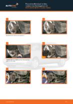 Πώς αντικαθιστούμε τα πίσω τακάκια των δισκόφρενων σε MERCEDES-BENZ C-CLASS W202