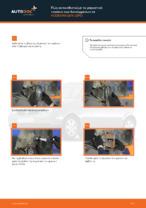 Βήμα-βήμα PDF οδηγιών για να αλλάξετε Ακρόμπαρο σε VW LUPO (6X1, 6E1)