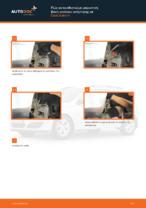 Πώς αντικαθιστούμε μπροστινή βάση γονάτου ανάρτησης σε Opel Astra H