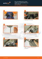 Δωρεάν οδηγίες για Ψαλίδια αυτοκινήτου MERCEDES-BENZ E-CLASS (W210) αλλάξετε