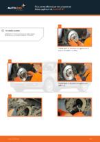 Πώς αντικαθιστούμε τον μπροστινό δίσκο φρένων σε Audi A4 В7