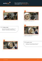 Πώς αντικαθιστούμε τον πίσω δίσκο φρένων σε Volkswagen T5