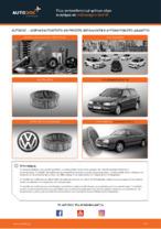Πώς αντικαθιστούμε φίλτρο αέρα κινητήρα σε Volkswagen Golf III