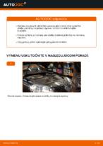 Ako vymeniť predné brzdové platničky kotúčovej brzdy na VOLKSWAGEN GOLF V