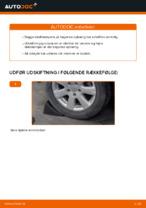 Hvordan skifter man og justere Støddæmper VW GOLF: pdf manual