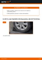 VW GOLF V (1K1) Tukivarsi asennus - vaihe vaiheelta korjausohjeet
