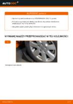 Jak zmienić Drążek wspornik stabilizator VW GOLF: darmowy pdf