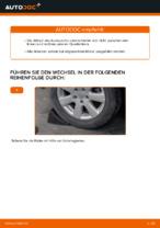 Querlenker wechseln VW GOLF: Werkstatthandbuch