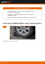 Comment remplacer les amortisseurs de suspension arrière sur une VOLKSWAGEN GOLF V