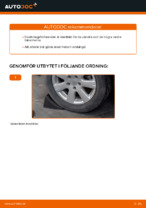 Lär dig hur du fixar Länkarm vänster och höger VW problemen