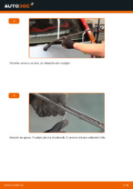 Jak vyměnit lištu zadního stěrače na autě FIAT PUNTO II (188)