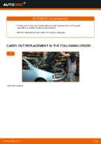 DIY FIAT change Air Filter - online manual pdf