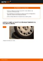Cómo cambiar los amortiguadores de suspensión trasera en FIAT PUNTO II (188)
