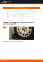FIAT PUNTO (188) Halter, Stabilisatorlagerung wechseln : Anleitung pdf