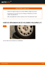 Wiellager vervangen FIAT PUNTO: werkplaatshandboek