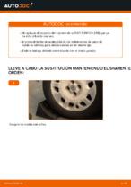 Cómo cambiar Juego de cojinete de rueda delantera izquierda derecha FIAT PUNTO (188) - manual en línea