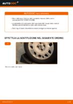 Come sostituire il cuscinetto del mozzo della ruota posteriore su FIAT PUNTO II (188)