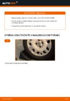 Výmena Lozisko kolesa FIAT PUNTO: dielenská príručka