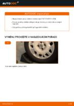 Jak vyměnit přední a zadní Lozisko kola FIAT udělej si sám - online návody pdf