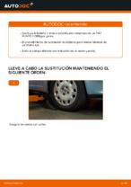 Cómo sustituir la bieleta o enlace estabilizador delantero en un FIAT PUNTO II (188)