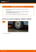 Come riparare un tirante frontale della barra stabilizzatrice su un' FIAT PUNTO II (188)