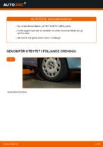 PDF guide för byta: Krängningshämmarstag FIAT bak och fram