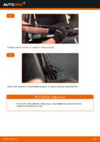 Ako vymeniť lištu predného stierača na aute VOLKSWAGEN GOLF IV