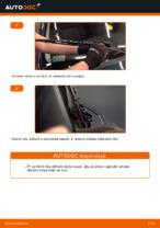 Jak vyměnit lištu předního stěrače na autě VOLKSWAGEN GOLF IV