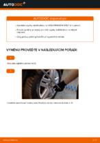 Jak vyměnit přední vzpěru stabilizátoru na VOLKSWAGEN GOLF IV