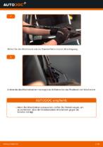 VW Scheibenwischerblätter Front + Heckscheibe wechseln - Online-Handbuch PDF