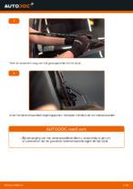 Ruitenwissers veranderen VW GOLF: werkplaatshandboek