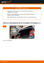 Hoe u gasveren voor het kofferbakdeksel van een VOLKSWAGEN GOLF IV kunt vervangen