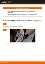 Draagarm veranderen VW GOLF: werkplaatshandboek