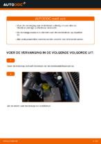 Remblokken vervangen VW GOLF: werkplaatshandboek