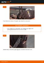 Hvordan man udskifter viskerblade i bag på VOLKSWAGEN GOLF IV