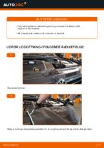 Hvornår skal Luftfilter skiftes VW GOLF IV (1J1): vejledning pdf