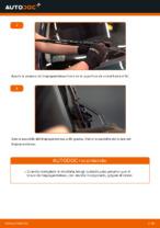 Cuándo cambiar Plumas limpiaparabrisas VW GOLF IV (1J1): manual pdf
